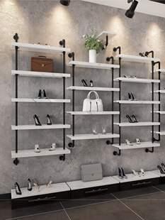 鞋店鞋架钛合金货架展示架童鞋店货架童鞋店装修效果图开店用的鞋