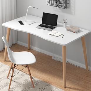 电脑桌台式家用书桌简约办公桌学习桌卧室桌子简易小型学生写字桌