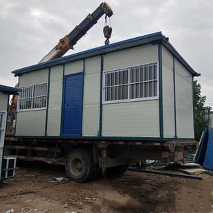 移动集装箱房子活动板房屋彩钢防火住人办公室吊组装板房简易临。