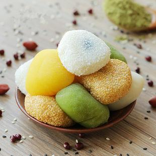 超值5斤1斤干吃汤圆麻薯软糯糯米团子糍粑传统糕点小吃零食点心