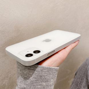 超薄磨砂适用苹果12pro手机壳女款iphone11Pro男Max镜头mini全包x/xsmax/xr创意8plus透明7p/se2防摔6sp硅胶