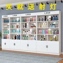 化妆品展示柜美容美甲展柜理发店产品陈列置物架母婴超市展示货架