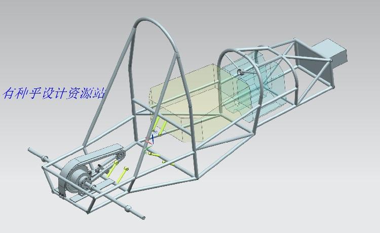 大学生方程式赛车设计传动及最终传动系统设计说明书CAD图纸UG图