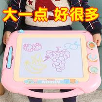 儿童画画板磁性磁力彩色手写字板笔可擦家用宝宝绘画屏幼儿涂鸦板