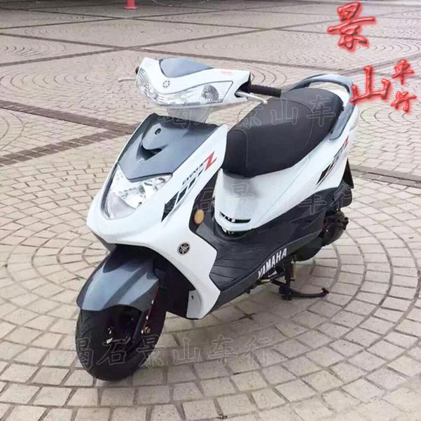 原装二手雅马哈国二迅鹰125CC四冲程助力代步女装踏板摩托车整车