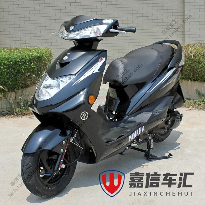 二手原装正品国三雅马哈迅鹰125cc踏板摩托车整车四冲程燃油助力