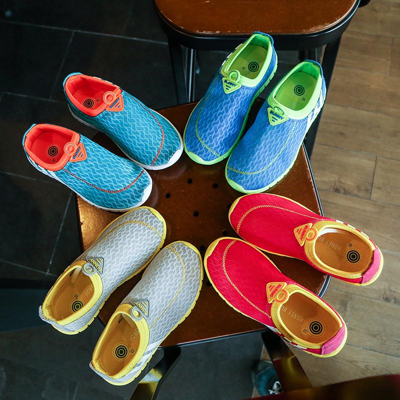 2017秋季新款女童鞋儿童运动鞋男童鞋童鞋子休闲鞋透气网鞋跑步鞋