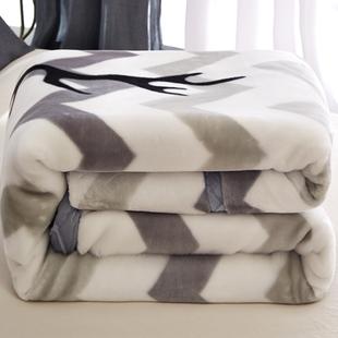 珊瑚绒毯子冬季加厚法兰绒拉舍尔毛毯垫床夏季薄款小被子夏天午睡