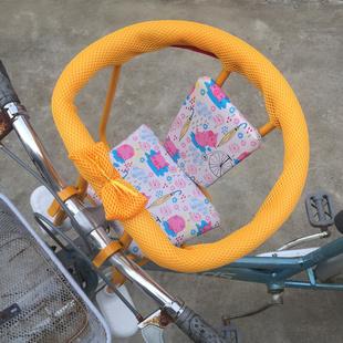 包邮大号自行车儿童安全座椅前置前挂婴儿宝宝坐椅前后置两用座椅