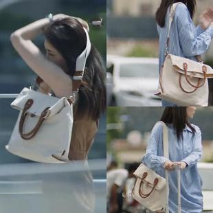 三十而已江疏影王漫妮同款包单肩斜跨帆布包时尚百搭大包包购物袋