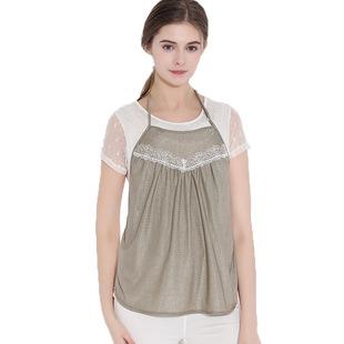 防辐射服孕妇装正品加肥加大码胖M200斤怀孕期放射衣银纤围裙肚兜