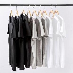 男士短袖t恤冰丝宽松半袖白T夏季男装体恤潮流潮牌2020新款上衣服