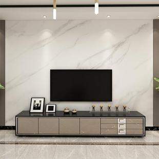 現代簡約大氣電視背景墻壁紙仿大理石紋客廳墻布墻紙無縫定制壁畫