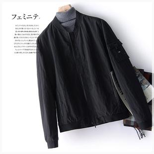 性价比优越!帅气有型,男士棒球服夹克外套ⓝ F801G068