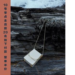 【西木汀】 月半小曲 小众手提烟盒包女2020新款单肩斜挎链条包包