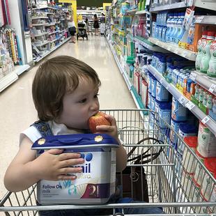 直邮包税英国Aptamil爱他美pro白金版2段6-12月婴幼儿配方牛奶粉