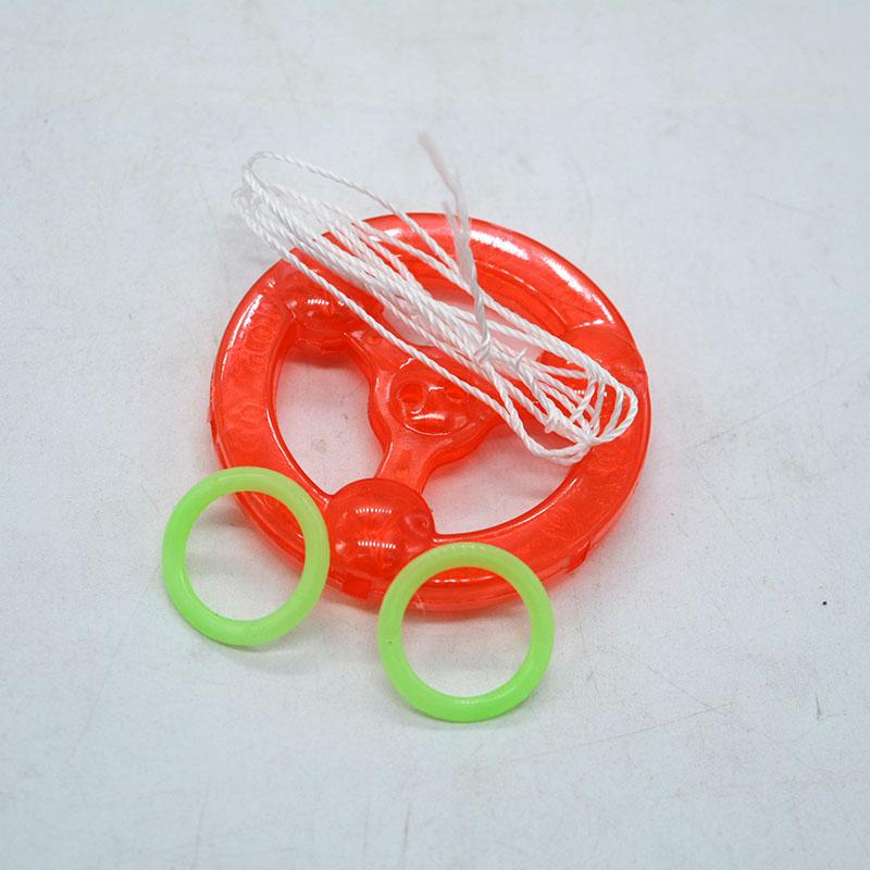 20个拉哨圈 飞轮拉响拉线塑料风火轮 创艺儿童玩具礼品夜市地摊货