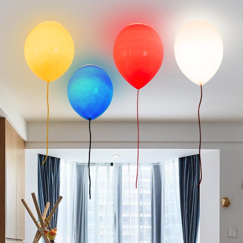 简约满减灯气球吸顶灯卧室男女孩书房创意餐厅乐园个姓灯饰儿童房