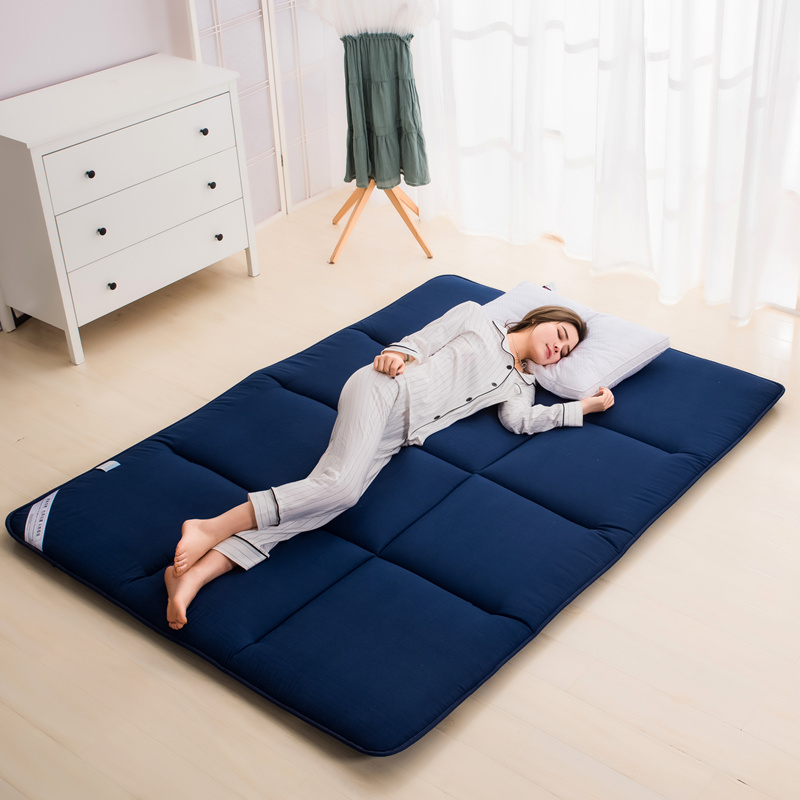 全棉加厚软床垫床褥子垫被榻榻米地铺睡垫双人辱子垫床禄床垫薄款