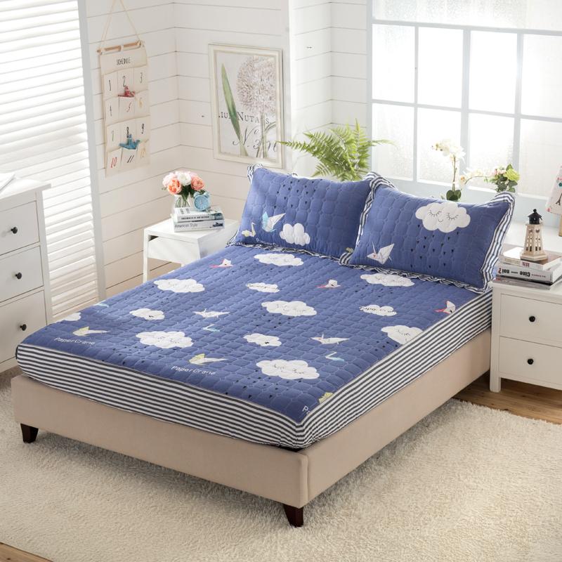 纯棉夹棉 米儿童加棉床笠单件 1.5 米 1 加厚高低床子母床一米二一米