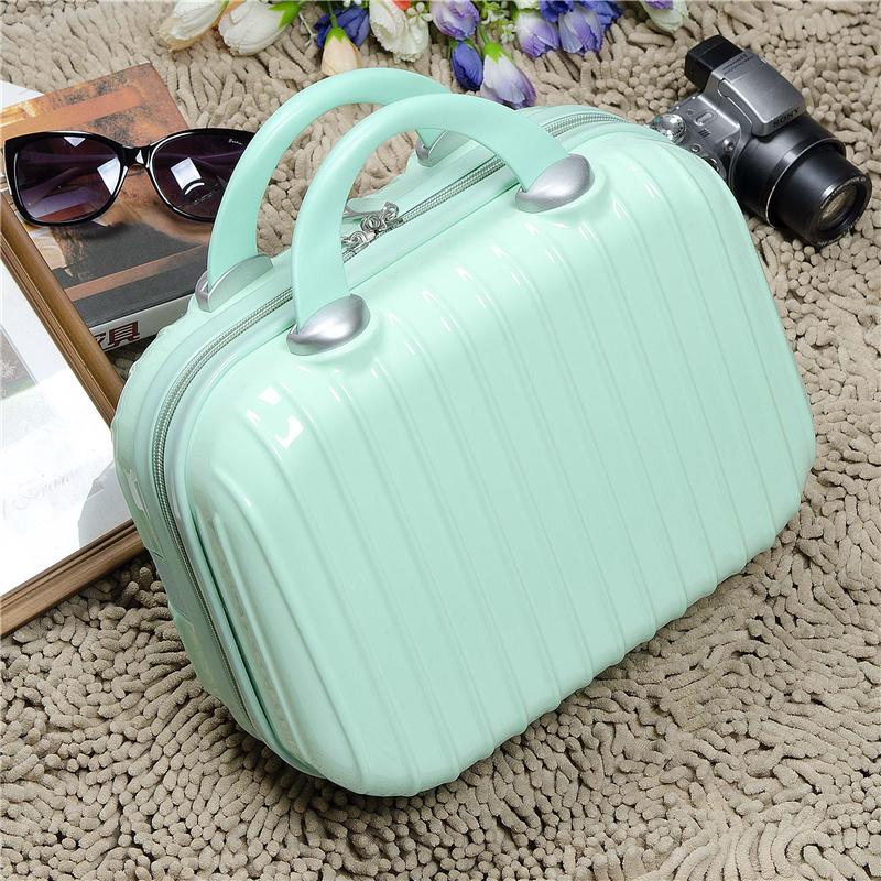 韩版可爱女士手提箱子小行李箱时尚手提化妆包迷你旅行箱小手拎包