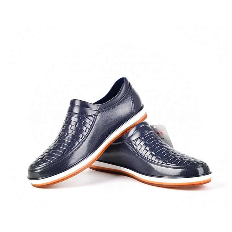 夏季低帮雨鞋男式短筒雨靴透气春秋鞋工作厨房元宝牛筋底防滑水鞋