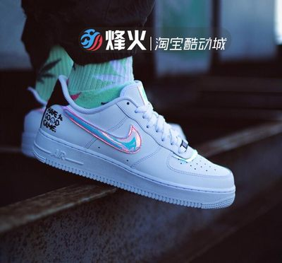 烽火 Nike Air Force 1 AF1 全白低帮板鞋 315122 314192 315115
