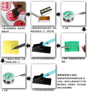 The new Fast welding machine wire soldering iron dry tin