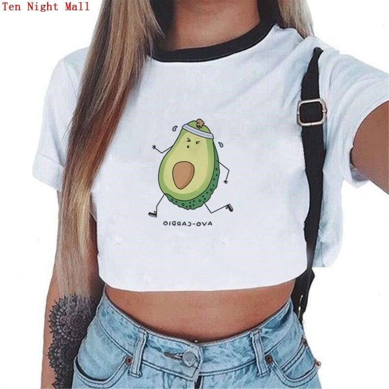 Avocado Print Top Women's T-Shirt