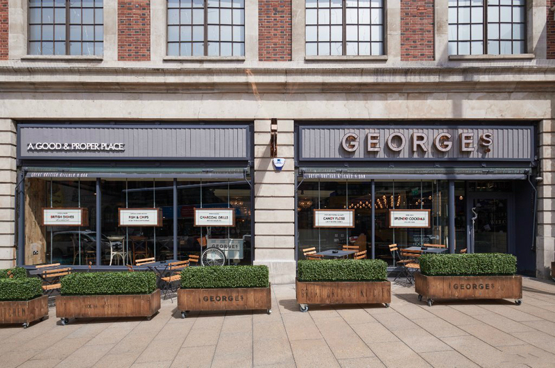 George's Great British Kitchen-Leeds