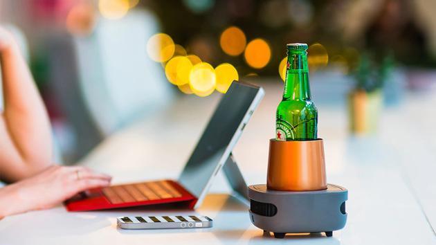 这款桌面制冷杯——在办公室1分钟畅享冰饮