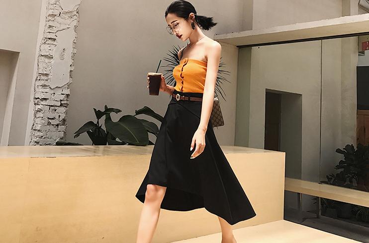 裙子的完美显瘦长度,你知道在哪吗?