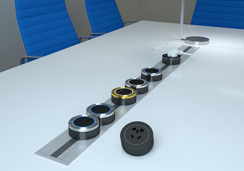 轨道插座——任由十八般电器同时插,不凌乱!