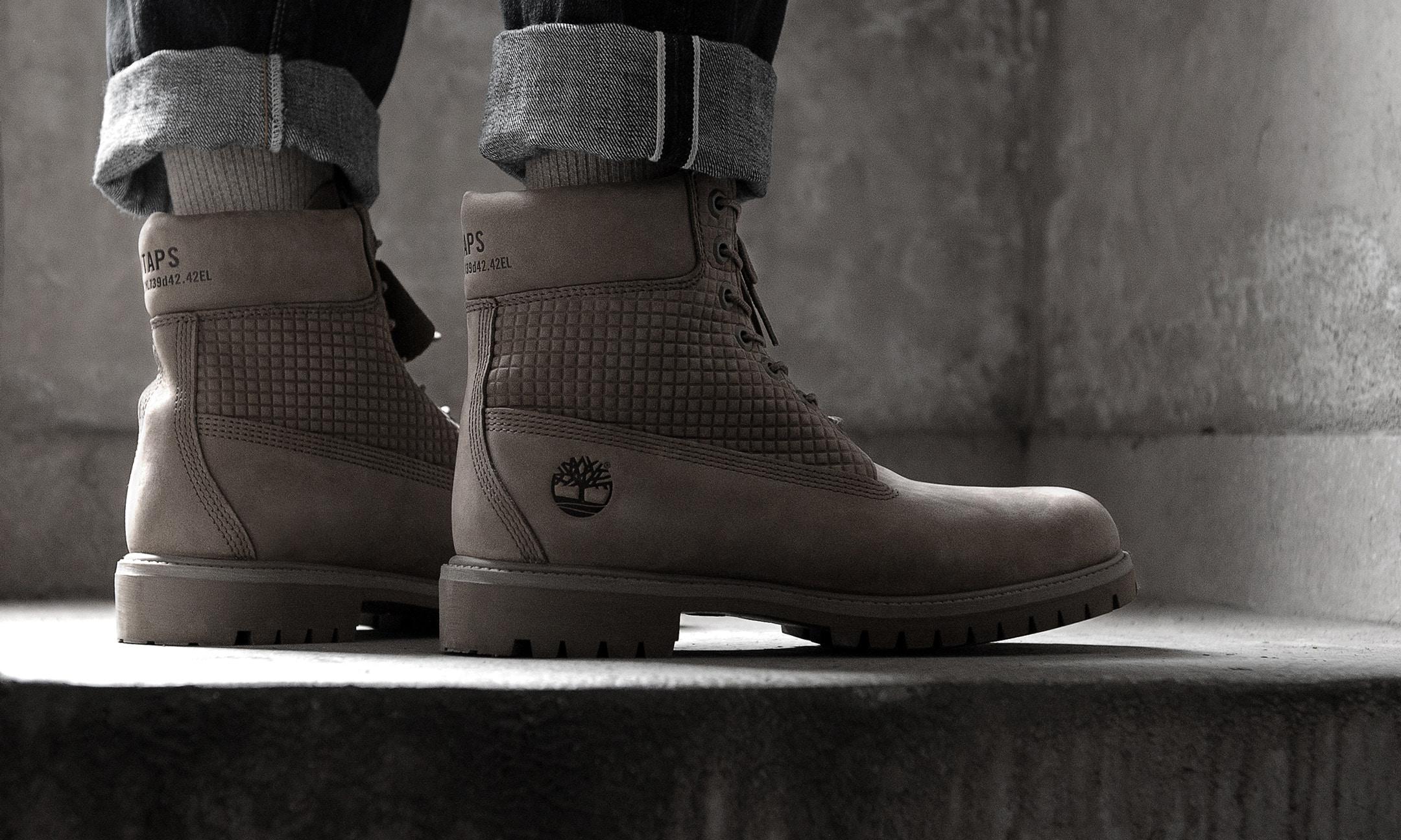 添柏岚联手 WTAPS 推出最新靴款