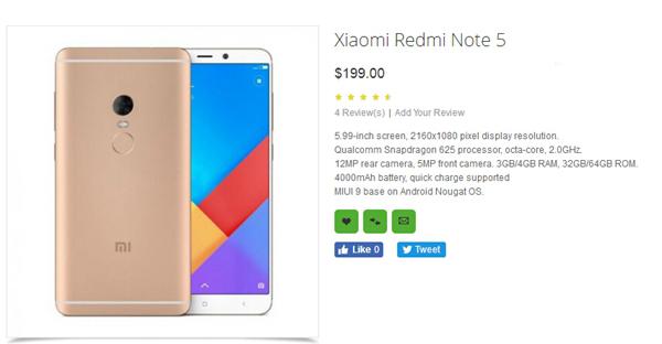 来了,红米Note 5仅售1300元?