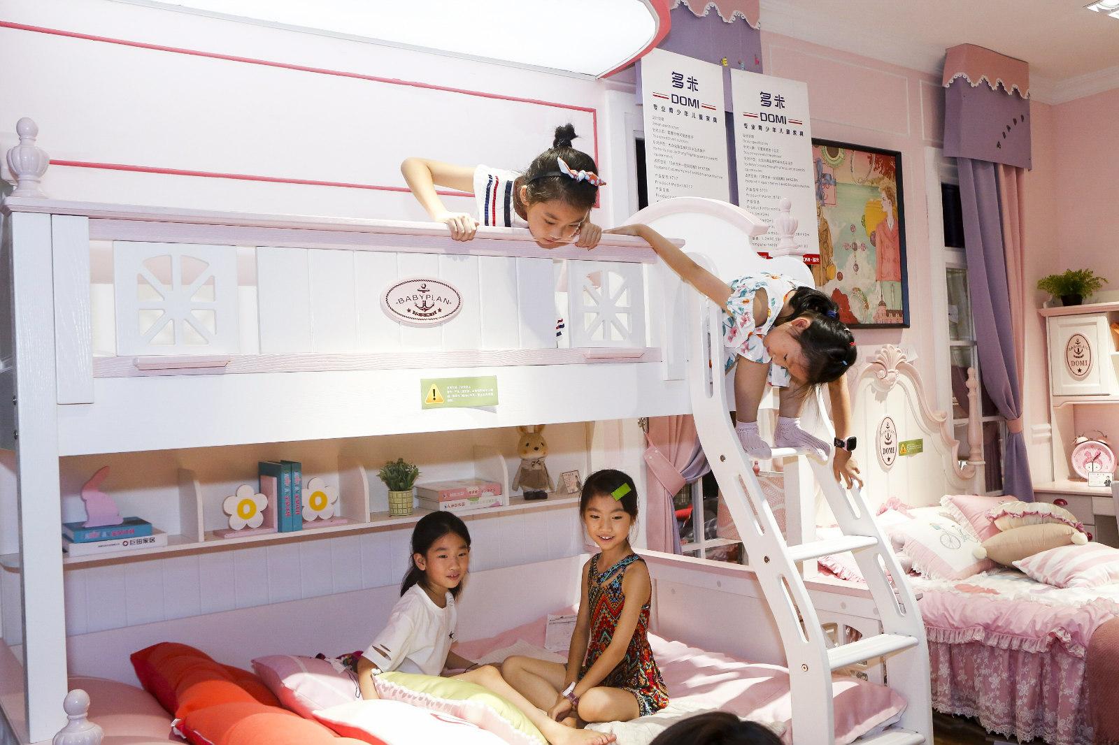 淘宝一年卖出150万张儿童高低床 !