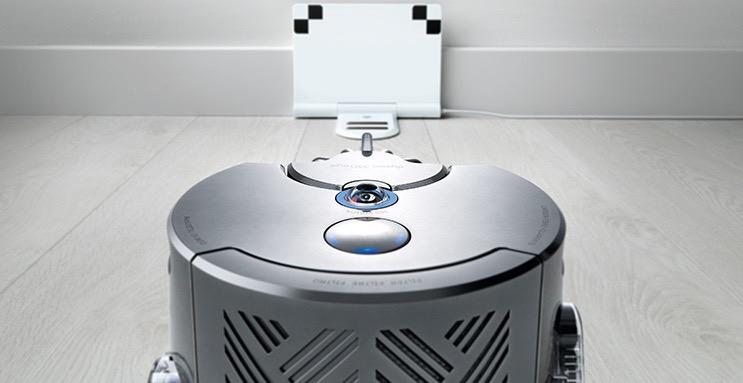 奢侈戴森智能吸尘机器人开启智能清洁时代