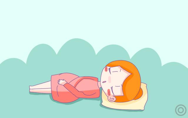 欧美街拍孕期这种睡姿最不舒服却对胎儿最好