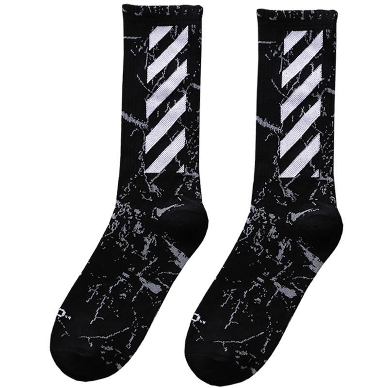 袜子男士长袜中筒袜ins潮女高帮运动长筒篮球袜夏季街头潮牌短袜