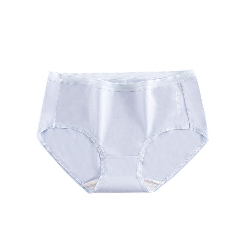 内裤女纯棉抗菌中腰女士全棉裆透气少女日系夏天薄款舒适无痕短裤