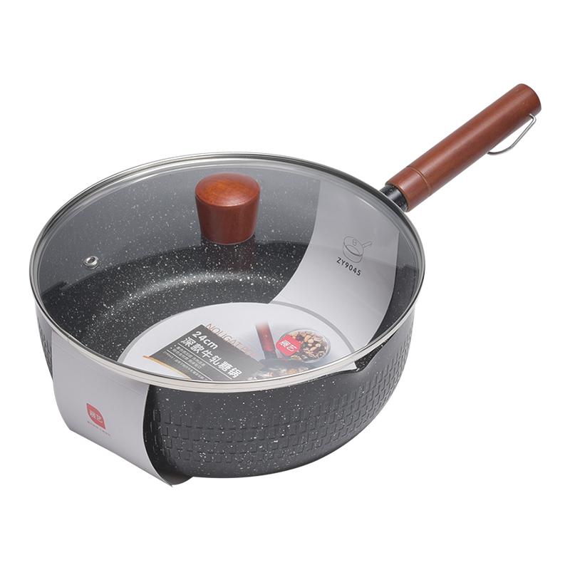 展艺加厚麦饭石牛轧糖雪花酥电磁炉评价如何