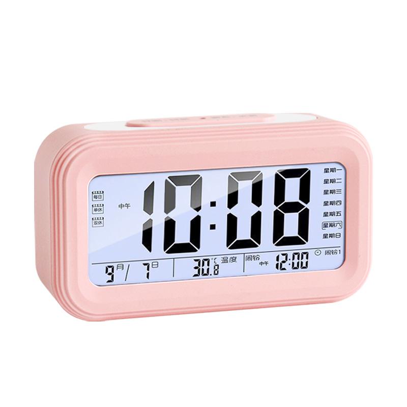 学生静音电子多功能夜光智能床头钟质量怎么样