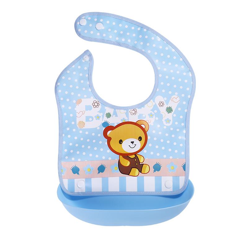 吃饭宝宝食防脏神器防水兜兜围嘴好用吗