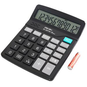 得力d82ms计算器多功能学生用函数