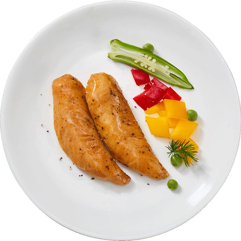 优形沙拉低脂鸡胸肉60g*9袋 低脂低卡零食健身代餐即食鸡胸肉