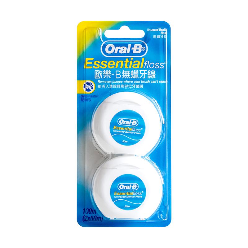 oral-b欧乐b进口细滑无味清洁扁线好用吗