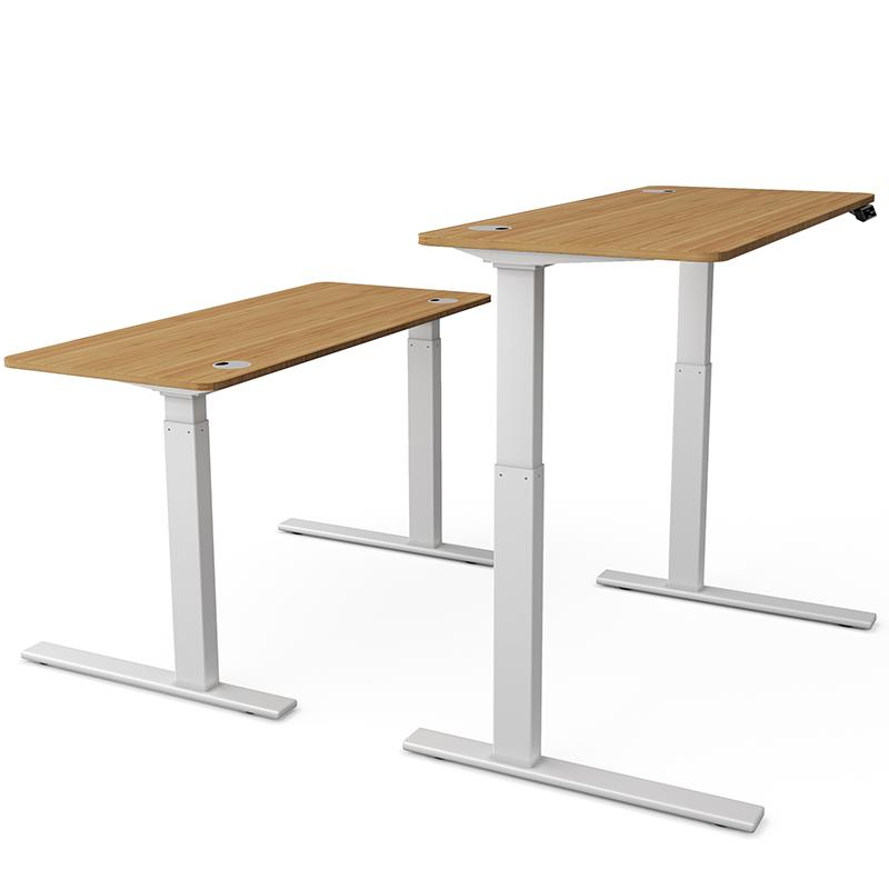 升降台式机书房电动现代简约办公桌质量如何