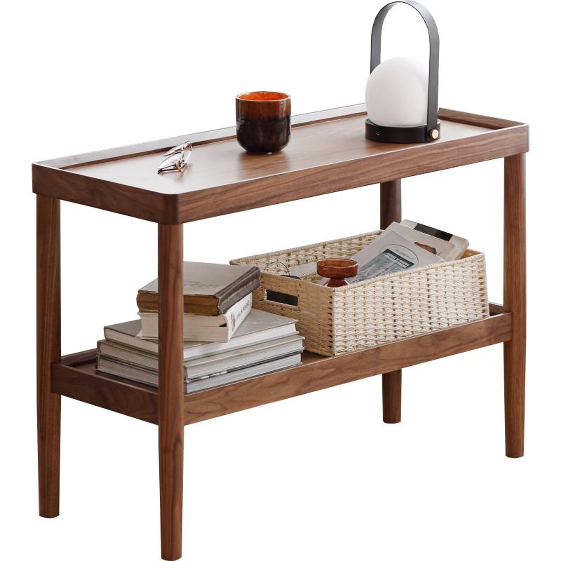 源氏木语纯实木沙发北欧客厅边几好用吗