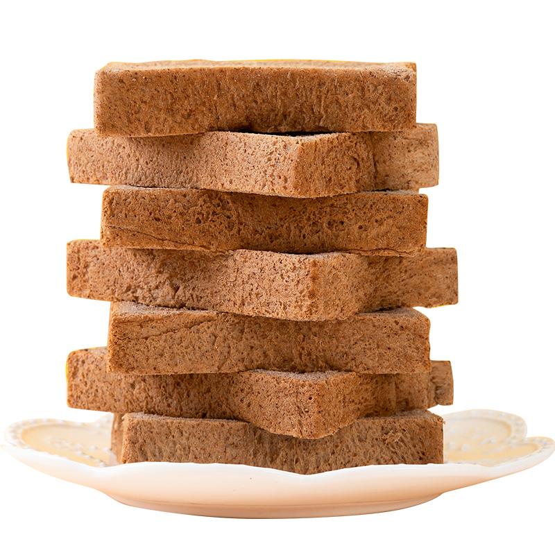 全麦无糖精减脱0低脂肪整箱片面包