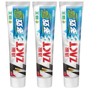 领【5元券】购买狮王日本zact渍脱双效150g成人牙膏
